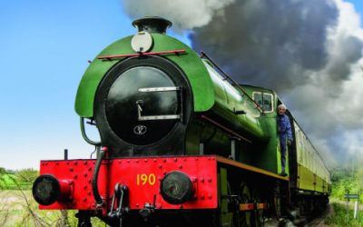 NEW LOOK FOR COLNE VALLEY RAILWAY
