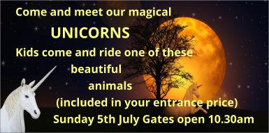 Unicorns at Colne Valley Railway
