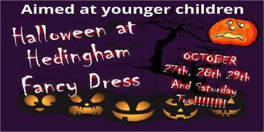 Halloween at Hedingham