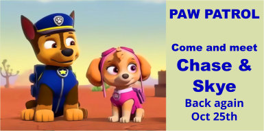 Paw Patrol at Colne Valley Railway